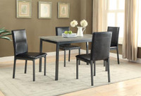 Slate 5pc Dining Set