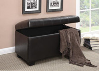 Lori Storage Bench Black