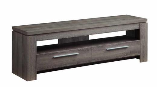 audio cabinet grey