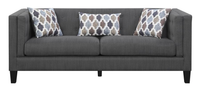 Adora Fabric Sofa Grey