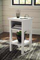 Marnville Side Table White