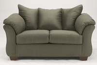 Madison Fabric Loveseat Sage