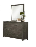 Morgan Dresser Mirror Brown