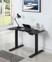 Ronan Power Adjustable Desk Black