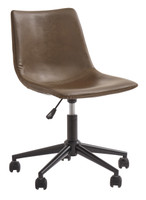 Keaton Swivel Office Chair Brown