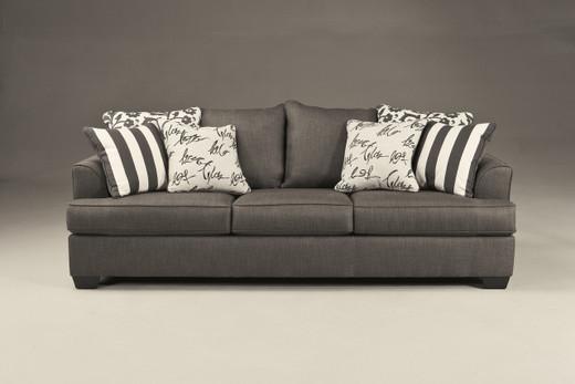 Devon Fabric Sofa Grey