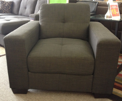 Lacey Fabric Grey  Chair