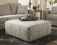 Perez Fabric Ottoman