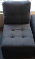 Matiz Armless Chair Grey