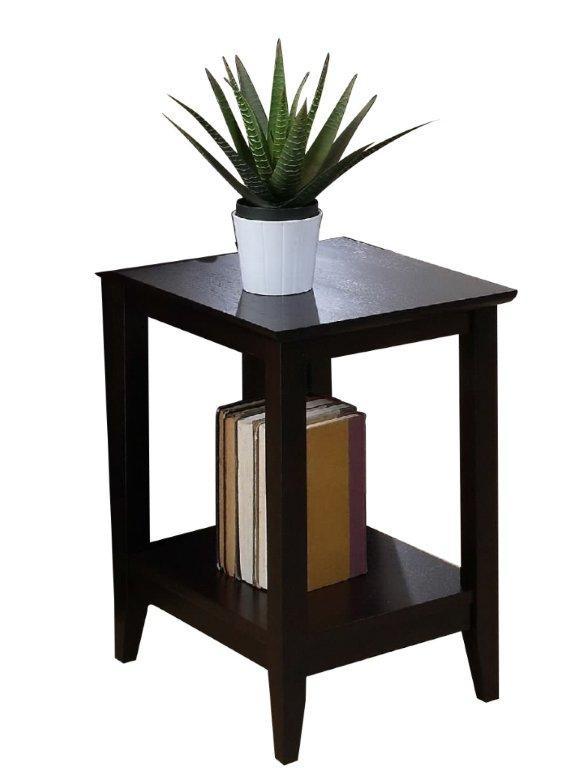 Quadra side table pallucci furniture for Table titanium quadra 6