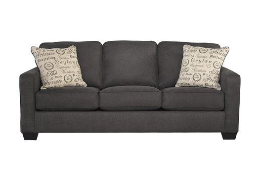 Perez grey or Charcoal Fabric sofa or Couch