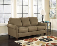 Orbit Fabric Queen Sofa Bed (Basil)