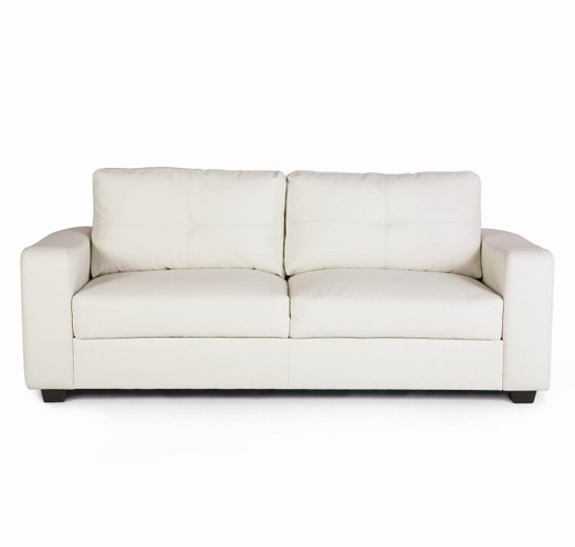 White Bonded Leather