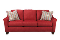 Aldo Queen Sofa Bed Red
