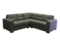Matiz Fabric Corner Sofa Grey