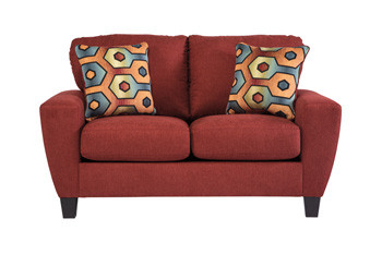 York Basil Fabric Love seat