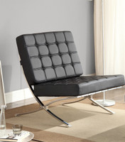 Argo Chair Leather-look White