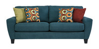 York Queen Sofa Bed Teal