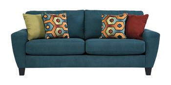 York Queen Sofa Bed Teal