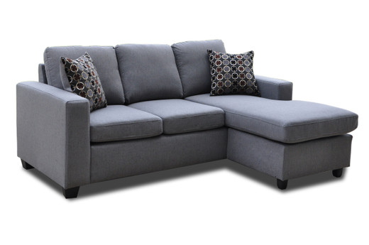 Noah Reversible Sectional Grey