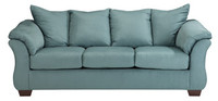 Madison Fabric Sofa Sky
