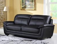 Tyson Genuine Leather Sofa Black