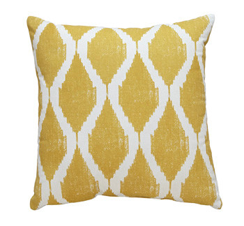 Bruce Yellow Cushion