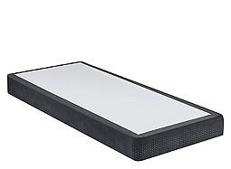 Black Suede Twin box base