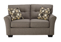 Jarvis Grey Love Seat