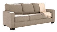 Shelby Queen Sofa Bed beige fabric