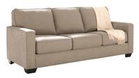 Shelby Queen Sofa Bed beige fabric