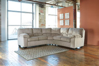 Calix Fabric Corner Sectional Beige