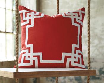 Vassal Coral Cushion