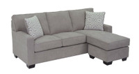 Rex Reversible Sectional Grey