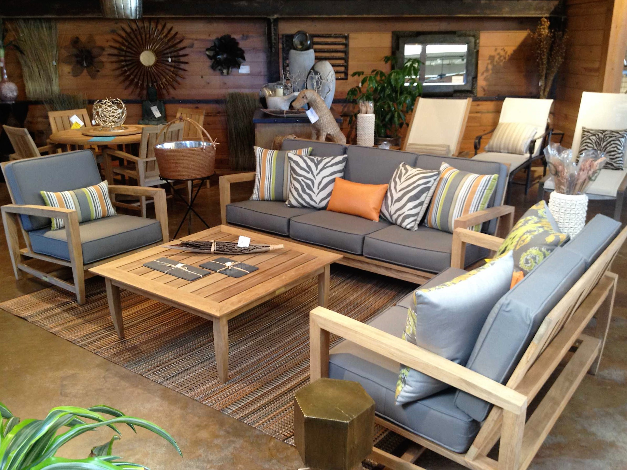Into The Garden Outdoor Furniture line & Dallas Fort Worth TX