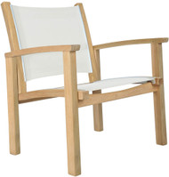 Kingsley Bate St. Tropez Teak Outdoor Club Chair