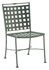 Woodard Sheffield Wrought Iron Dining Side Chair