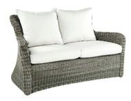 Kingsley Bate Sag Harbor Love Seat - Outdoor Wicker Love Seat