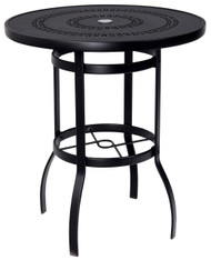 "Woodard 36"" Round Bar Table"