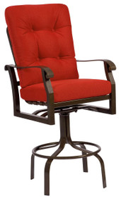 Woodard Cortland Swivel Bar Stool
