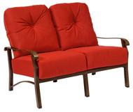 Woodard Cortland Love Seat
