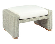 Kingsley Bate Westport Wicker Outdoor Ottoman