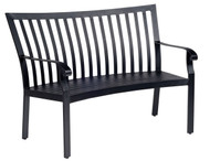 Woodard Cortland Crescent Bench