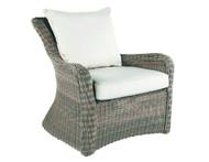 Kingsley Bate Sag Harbor Wicker Lounge Chair - Outdoor Wicker Lounge Chair