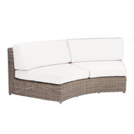 Kingsley Bate Replacement Cushions for Sag Harbor Sectional Curved Settee (SH34)