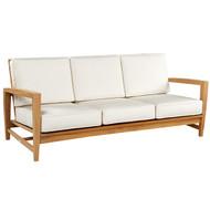 Kingsley Bate Amalfi Sofa - Modern Teak Outdoor Sofa