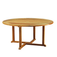 "Furniture Cover for Kingsley Bate Essex 50""-52"" Round Dining Table with Five-Six Chairs"