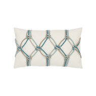 Aqua Rope Lumbar Pillow