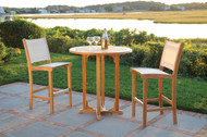Kingsley Bate St. Tropez Three Piece High Dining Set