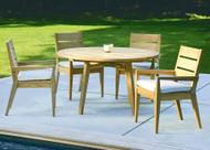 Kingsley Bate Algarve Five Piece Dining Set